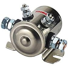 amazon com warn 72631 solenoid replacement automotive max 300a continuous duty solenoid relay nickel plating for golf carts winch marine in rush 12vdc