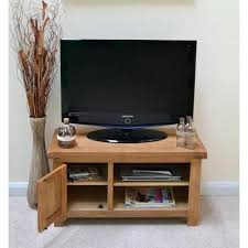 Oak Tv Storage Unit