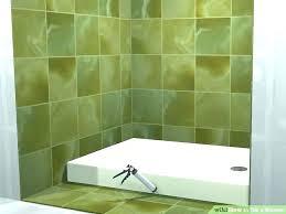 sealing shower tiles shower grout sealer how to grout a shower floor tile grout shower floor