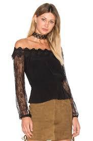Flynn Skye Size Chart Bardot Elliot Trousers Bardot Charlston Off Shoulder Top