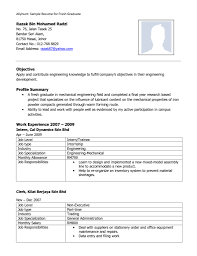 Free Download Mechanical Engineer Resume Doc Template Domainlives