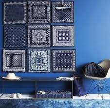 blue color feng shui decor