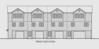 Strikingly Beautiful Fourplex House Plans 3 4 Plex Plans Quadplex Plans
