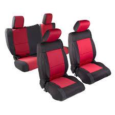 smittybilt 471630 neoprene seat cover fits 13 16 wrangler jk