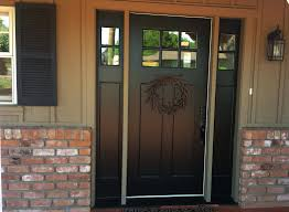 black front door paint sherwin williams modern black front door hardware half glass entry doors with double side lights on cream painted wall combined with