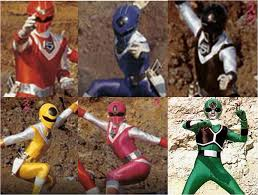 Light Squadron Maskman The A Yoshi Museum Ki Ki Aura Power Train Your Aura