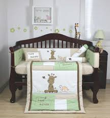 excellent image of baby nursery room decoration with various giraffe baby bedding fair image of