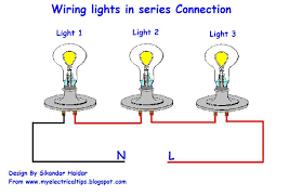 wiring diagram lights in series how to wire 3 lights to one switch diagram at Wiring Lights In Series