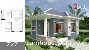 House Design Small House Design Plans 7x7 With 2 Bedrooms House Plans S