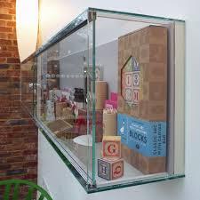 contemporary display case wfg003