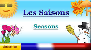 french lesson learn french seasons les saisons las french lesson 46 learn french seasons les saisons las estaciones en acutes