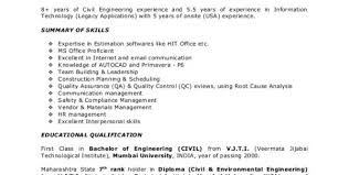 Project Manager Resume Pdf Engineering Project Manager Resume ...