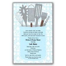 Gleam Kitchen Shower Invitations Shower Invitations