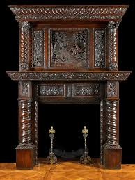 gothic antique fireplace mantels with mirrors antique jacobean carved oak fireplace with over mantel