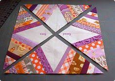 Spider Web quilt block - Tutorial. I've seen this done by a few ... & Spider Web quilt block - Tutorial. I've seen this done by a few Adamdwight.com