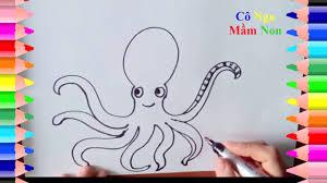 Hướng dẫn vẽ các con vật - How to draw some animal - YouTube