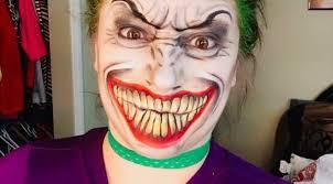lady joker makeup