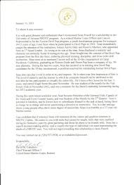 Letter Of Recommendation For Ocs - April.onthemarch.co