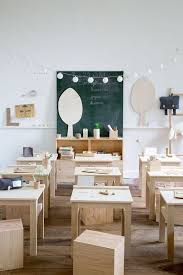 children s furniture and decorative objects made of natural materials