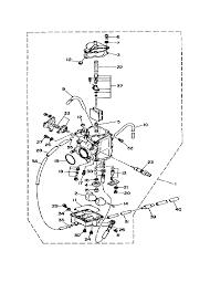1988 yamaha terra pro 350 yfp350xu carburetor parts best oem rh bikebandit yamaha terrapro wiring schematic yamaha banshee wiring diagram