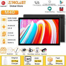 2020 new】 máy tính bảng teclast m40 mới nhất máy tính bảng android 10.0 máy  tính bảng 6gb ram 128gb rom 10.1 inch 8mp camera kép 4g gọi điện thoại  bluetooth 5.0