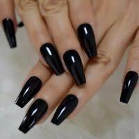 nails fake false 24 pc nail set glue