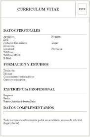 Plantillas Curriculum Vitae Gratis Word Gratis 20 Modelos Curriculum