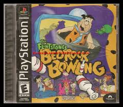 sony playstation 1 games. sony playstation 1 - flintstone bedrock bowling sony playstation games