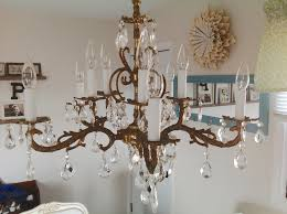 and a pretty chandelier i actually spend a little more time making sure the table is always clean almost always and the floor is swept more often