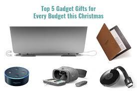 Top 5 Christmas Gifts Infographics Gadget Gifts For Christmas