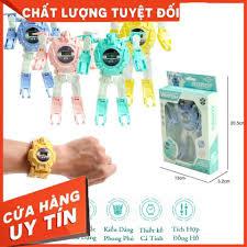 Mua SIÊU HOT _ Đồng Hồ 2in1 Biến Hình Robot _ Dành Cho Bé Trai và Bé Gái  (Phù hợp bé từ 3-10 Tuổi) chỉ 59.900₫