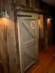barn siding and cotton warehouse door
