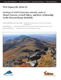 Pdf Geology Of Mid Cretaceous Volcanic Rocks At Mount