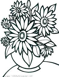 Floral Design Drawing At Free For Personal Use Coloring Pages Flower