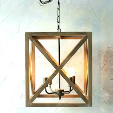 round wood chandelier beautiful wood and metal