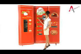 Let's Pizza Vending Machine New Vending Machine Offers Freshly Made Pizzas In Less Than Three