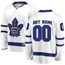 Fanatics Size Chart Youth Toronto Maple Leafs Joseph Woll Customized Fanatics Branded
