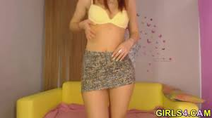 Teen strips amazing body video