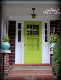 green front doorsHouse And Surroundings Green Front Door Design Ideas Decor Image
