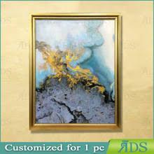 Оптовая продажа современное искусство реферат Купить лучшие  Рамке ручной работы абстрактное искусство живопись современная холст с позолотой