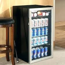 glass door mini fridge best beverage refrigerator ideas on cooler bars