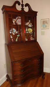 awesome collection of antique drop front secretary desk with bookcase for antique drop front secretary desk