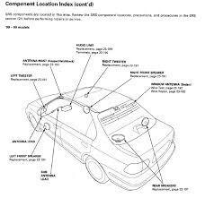 tweeter wiring diagram speaker l pad wiring diagram speaker image civic oem radio wiring diagram honda tech a google search will yield you a service manual