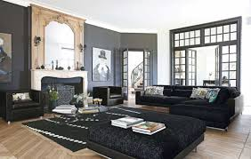 Living Room Inspiration  Modern Sofas By Roche Bobois Part - Black furniture living room