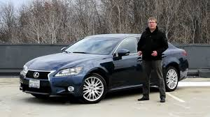 IHS Auto Reviews: 2013 Lexus GS350 AWD with Enform - YouTube