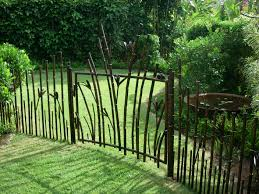 Small Picture Wrought Iron Garden Gate Designs Very Decorative Garden Gate