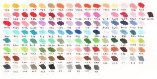 copic ciao color chart my copic color chart by acoony on deviantart