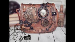 Altered bag - steampunk purse