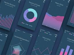 chart graphic design. 2459531 Mobile UI Design Inspiration: Charts And Graphs Chart Graphic