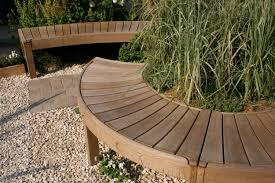 Small Picture Curved Garden Bench Curved Garden Bench Seat Landscaping